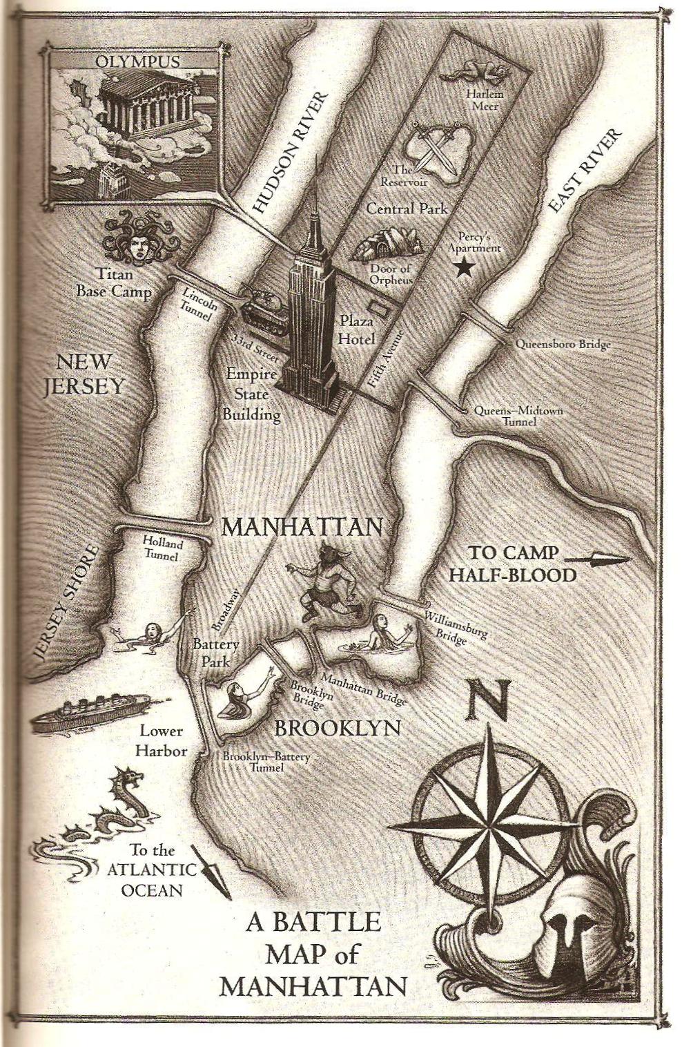 Battle of Manhattan  Riordan Wiki  FANDOM powered by Wikia