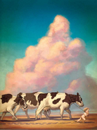 Baby Hermes Steals Apollo's Cows