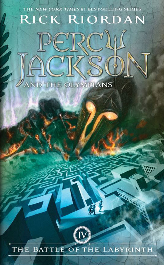 Image result for the battle of the labyrinth cover