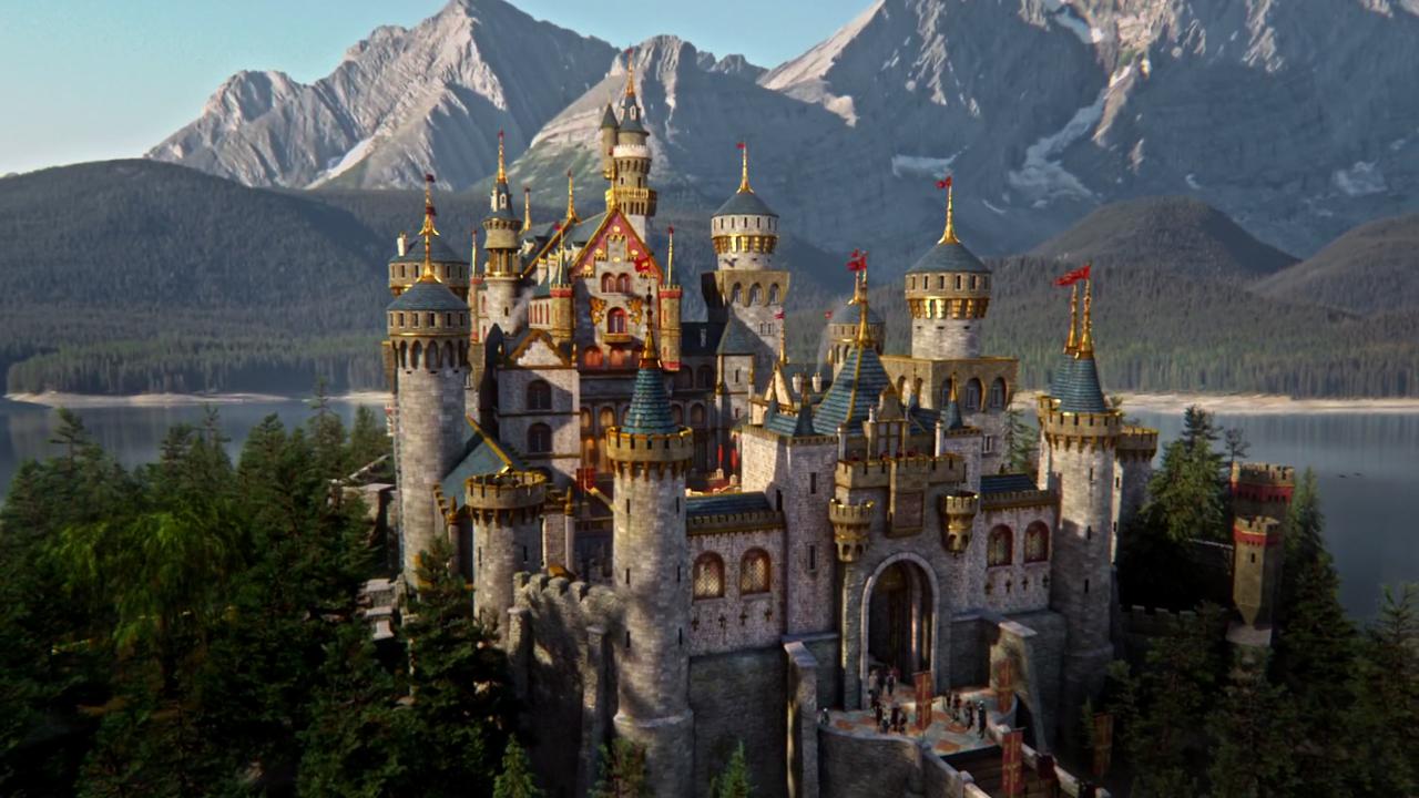 Howl S Moving Castle City