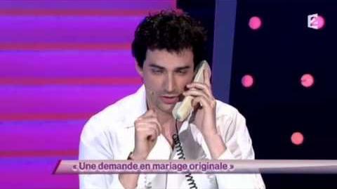 Une demande en mariage originale wiki ondar on n 39 demande qu 39 en rire fandom powered by wikia - Demande en mariage originale par une femme ...