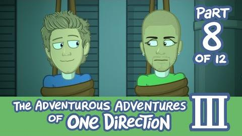 The Adventurous Adventures of One Direction 3 Part 8