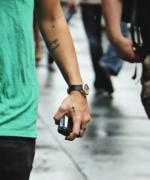 Harry cross tattoo
