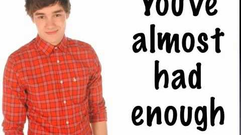 Video - Gotta Be You One Direction w lyrics, pics, and ... One Direction Names In Words