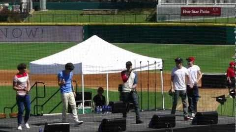 More Than This One Direction Live Dr Pepper ballpark