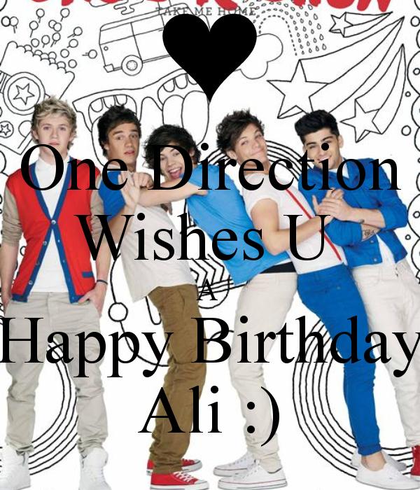Image Onedirectionwishesuahappybirthdayali1png – One Direction Birthday Greeting