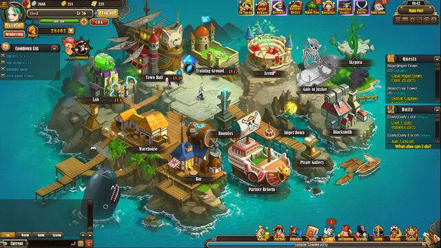 game luffy online