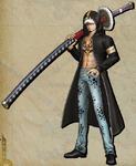 DLC Trafalgar D. Water Law Pirate Warriors 3.png