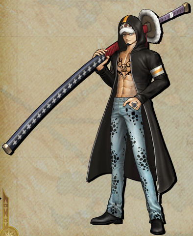 File:DLC Trafalgar D. Water Law Pirate Warriors 3.png