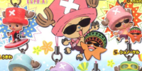 One Piece Chopperman in Beach Cellphone Strap