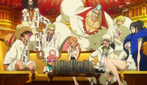 Film Gold Strawhats rich