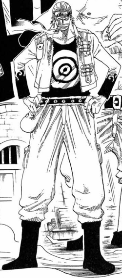Paulie Manga Pre Timeskip Infobox
