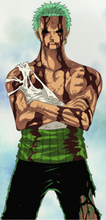 Zoro After Taking Luffy's Pain.png