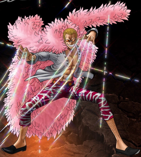File:One Piece Burning Blood Donquixote Doflamingo (Artwork).png