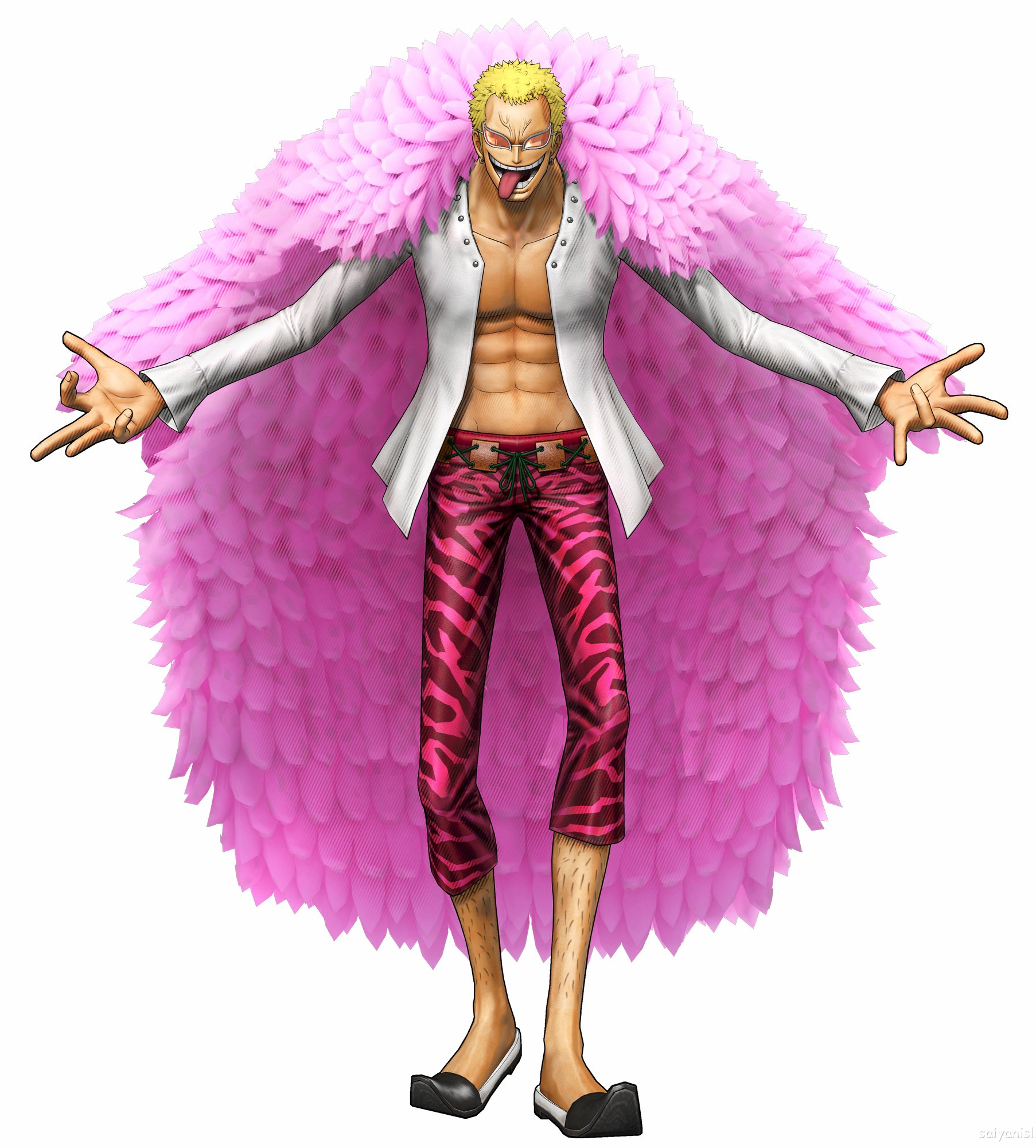 Marco Pirate Warriors 3: Fichier:Doflamingo Pirate Warriors 3.png