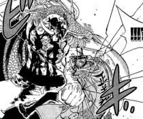 Whitebeard Breaks Akainu's Ribs