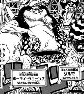 Hody Jones Manga Infobox