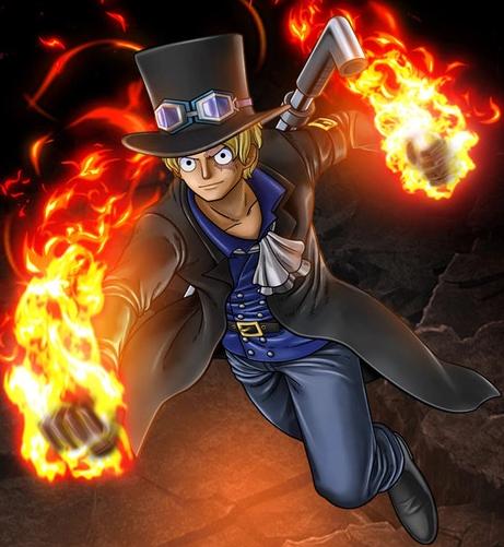File:One Piece Burning Blood Revolutionary Sabo (Artwork).png