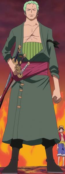 Roronoa Zoro Anime Post Timeskip Infobox
