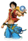 Luffy One Piece Unlimited Adventure Outfit
