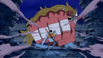 Nightmare Luffy Confronts Oars