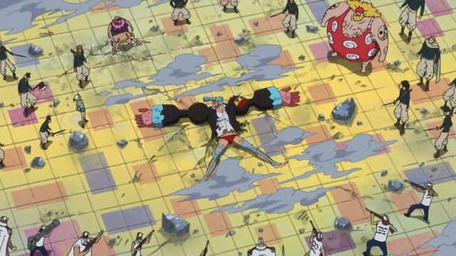 File:Franky Defeated by Senor Pink, Machvise, Dellinger and the Marines.png