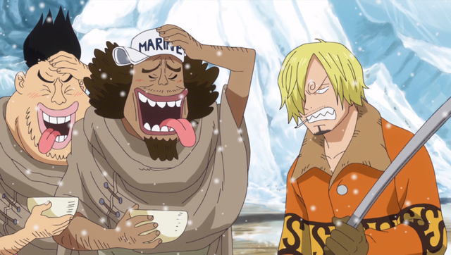 File:Pike and Sanji Celebrate.png