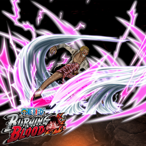 File:One Piece Burning Blood Duel Donquixote Doflamingo (Artwork).png