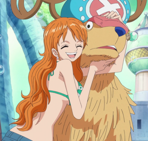 File:Nami Hugs Chopper.png