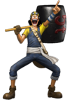 Usopp Pre Timeskip Pirate Warriors 3