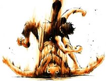 Luffy Knocks Out Mohji