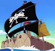 BlackBeard Pirates' Raft