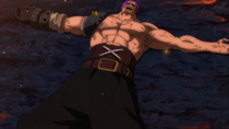 Zephyr Defeated by Luffy