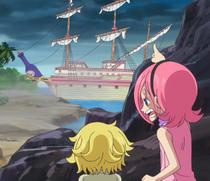 Reiju Helps Sanji Escape
