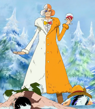 Inazuma Finds Mr. 2 and Luffy