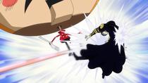 Gladius vs Luffy