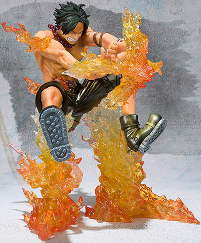File:Figuarts Zero Portgas D. Ace Battle Ver Cross Fire Special Color Edition.png