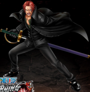 One Piece Burning Blood Strong World Shanks (Artwork)