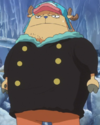 Franky in Chopper's Body.png