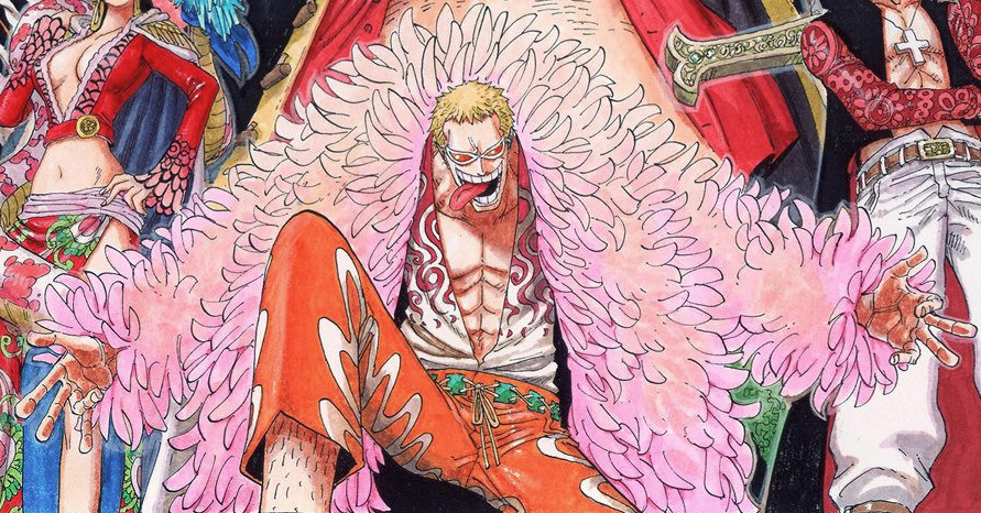 Donquixote Doflamingo in the manga