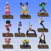 One Piece Full Color R Gashapon Set 2