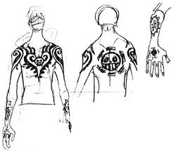 SBS71 3 Law Tattoos