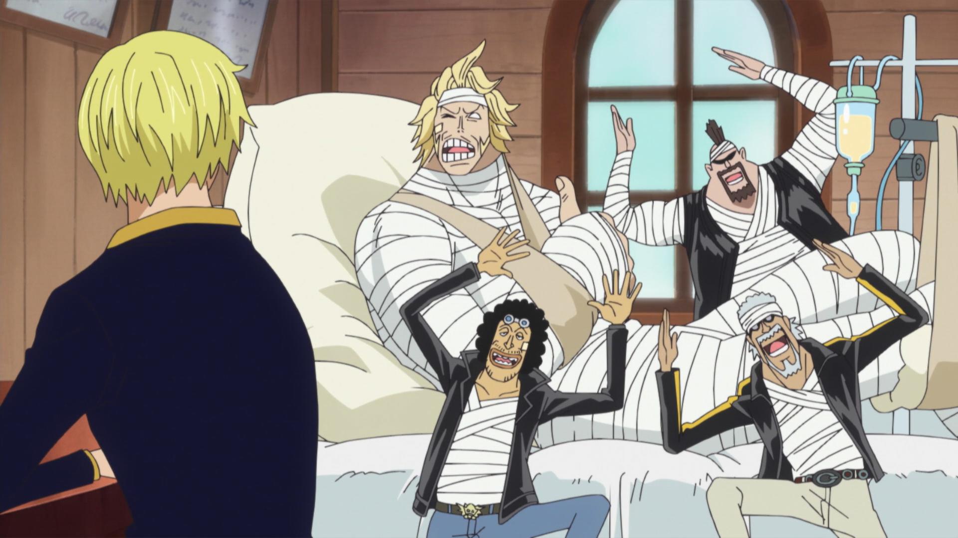 One Piece Sanji Time Skip