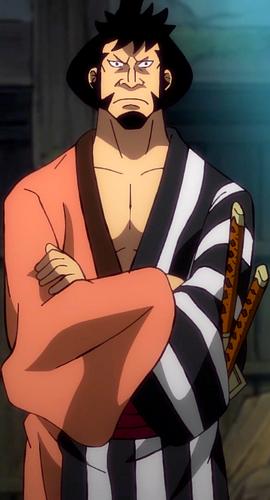 Kin'emon en el anime