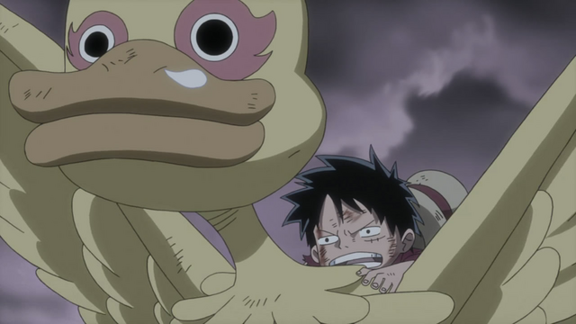 File:Luffy Emerges Victorious from Fight with Shiki.png