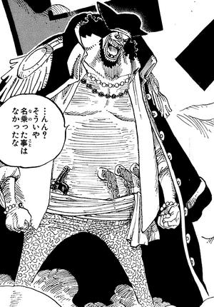 Marshall D. Teach Manga Pre Timeskip Infobox