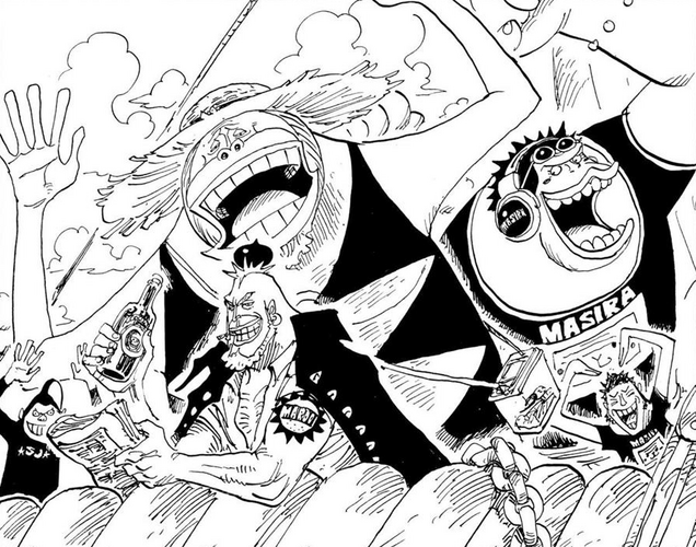 File:The Saruyama Alliance Reads About the Straw Hats' Return.png