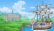 Donquixote Family's Ship