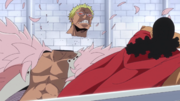Kyros Decapitates Doflamingo