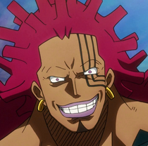 Mad Treasure without his glasses